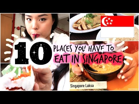 Trying 10 Places You Have to Eat in Singapore!