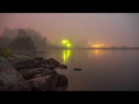 Августовский туман в Петрозаводске