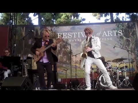 Steve Oliver performs High Noon live at the Festival of Arts feat Chase Huna