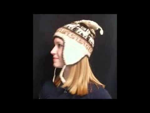 sombreros gorros y chullos - YouTube 070030d0c22