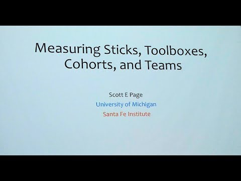 Scott E Page's Seminar on College Selection [2018-10-23, Greenhills School]