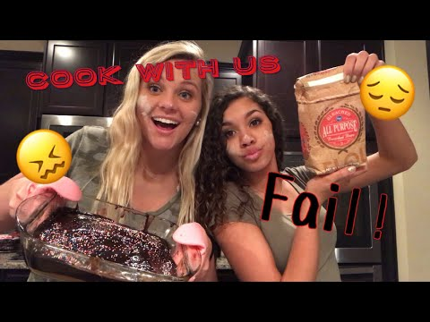 COOK WITH US *fail* | lyv and lex