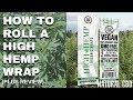 How To Roll High Hemp Wraps Pt. 1 | Cannabis Lifestyle TV