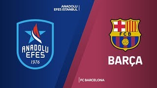 Anadolu Efes Istanbul - FC Barcelona Highlights | Turkish Airlines EuroLeague,  Round 1