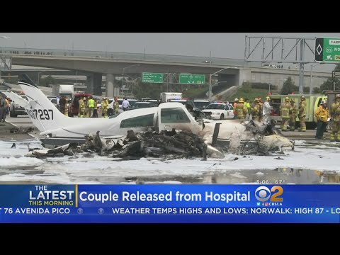 Couple In Fiery Santa Ana Freeway Plane Wreck Released From Hospital