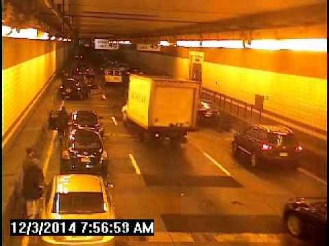 10 Car Pileup In Boston's O'Neill Tunnel