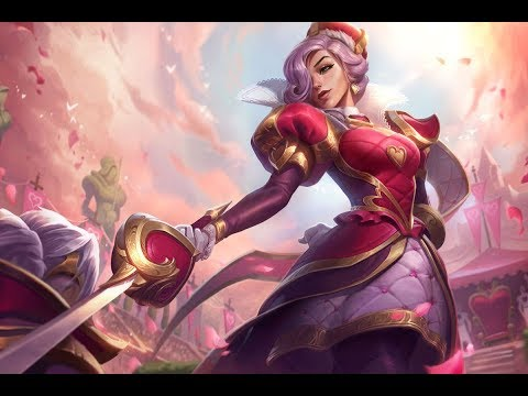 League of Legends: Heartpiercer Fiora-Skin Showcase