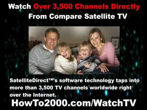 Compare Satellite TV | Watch Over 3500 Channels!