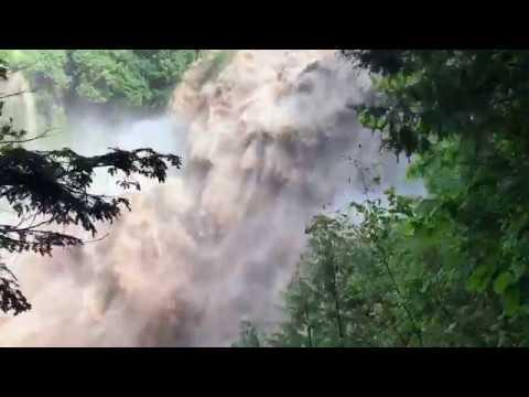 Flash Flood Chittenango NY - Crazy Amount of Water