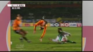 Nostalji Maçlar | 1995-1996 Sezonu Galatasaray 3 - 1 Bursaspor