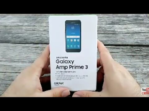 Samsung Galaxy Amp Prime 3 - Видео клипове