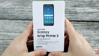 Samsung Galaxy Amp Prime 3 Unboxing Review Cricket Wireless Quick Hands On Shot On Moto E5 Supra