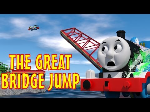 TOMICA Thomas & Friends Short 45: The Great Bridge Jump (The Great Race Parody)