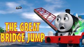 TOMICA Thomas & Friends Short 45: The Great Bridge Jump (The Great Race Parody)