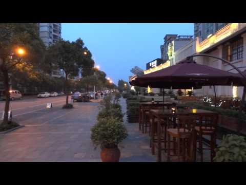 Outside Yasmine's Biyun Lu near Baihua Lu Shanghai Pudong Jinqiao