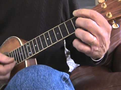 Easy ukulele blues in A (Tutorial)