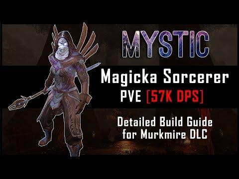 Magicka Sorcerer Build [57k DPS] - Murkmire DLC