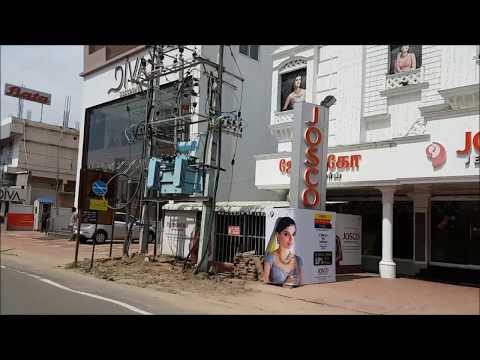 Coimbatore, Gandhipuram bus station, cross cut road (Streetview)