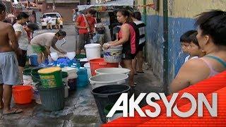 1.2-milyong sineserbisyuhan ng Manila Water, apektado ng water shortage