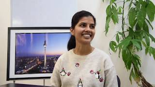Globtrain stories #1 Rajeshwari - Course KA1 Erasmus+ in Berlin at Globtrain