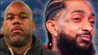 WACK 100 Says Nipsey Hussle Is Not A Legend: I Wholeheartedly DISAGREE!