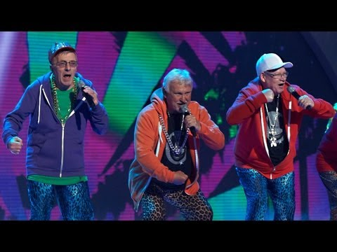 The Zimmers I'm Sexy And I Know It - Britain's Got Talent 2012 Live Semi Final - UK version