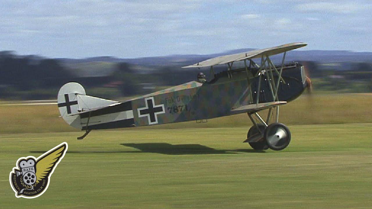 Ww1 German Fighter Fokker D Vii 1917 Youtube