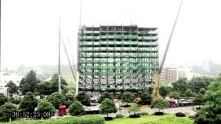 видео Этапы строительства гостиницы
