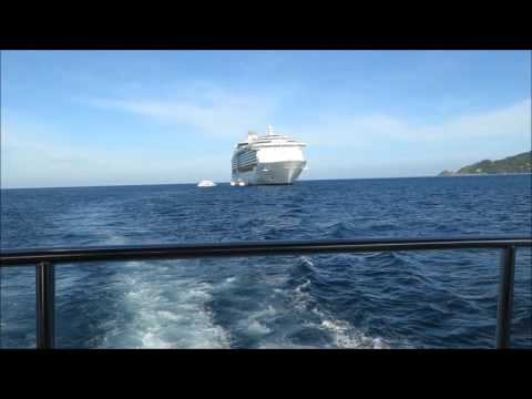 Mariner Of The Seas Tendering in Phuket, Thailand