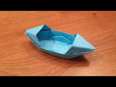 Thumbnail: How To Make a Paper Boat That Floats - Origami