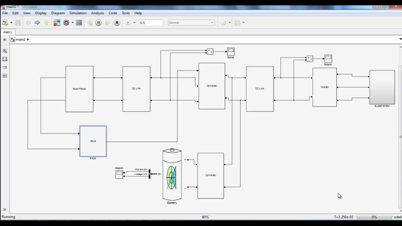 Minor Project For Electrical Engineering Using Matlab Youtube Diagram