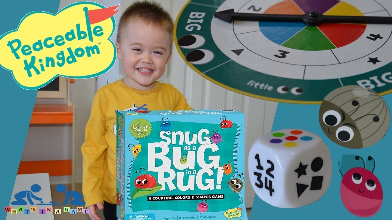 Games for Toddlers   Snug as a Bug in a