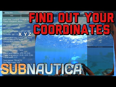 Subnautica Karte Anzeigen.Subnautica How To Find Your Coordinates Youtube