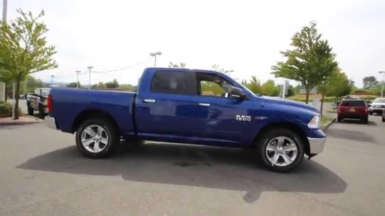 2014 Dodge Ram 1500 Big Horn Crew Cab   Blue Streak   ES394170   Everett   Snohomish - YouTube