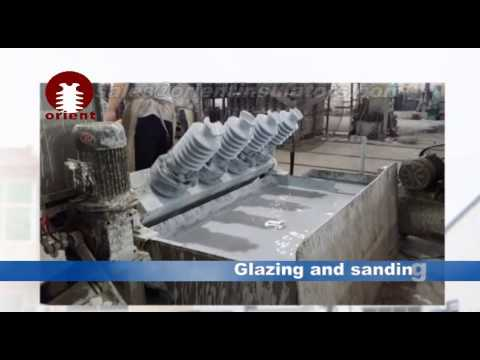 Porcelain insulator manufacturing process