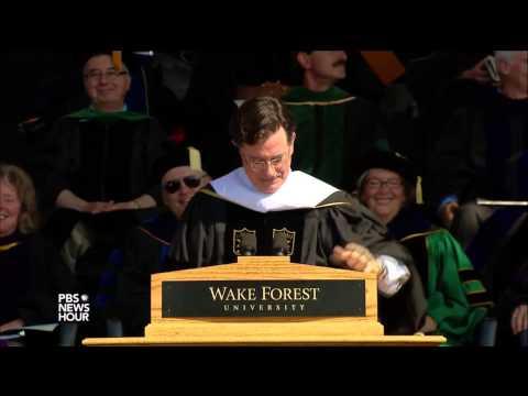 Famous commencement speakers crack jokes at graduation