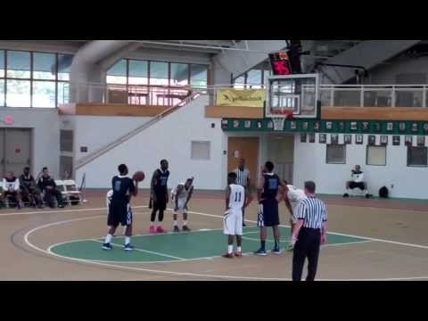 (4) Harford Community College vs Salem Community College Men's Basketball (11/2/13)