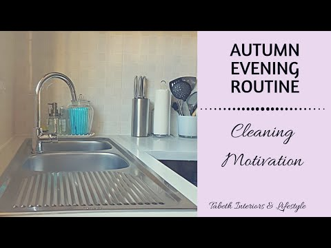 AUTUMN EVENING ROUTINE | GRACEFUL CLEANING MOTIVATION | SOUTH AFRICA