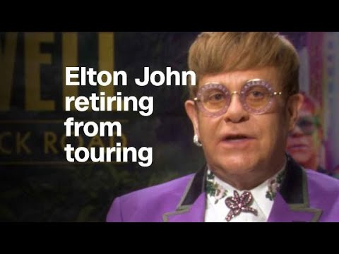 Elton John: I don't want to continue touring