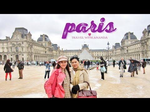 PARIS || Travel with Ananda || Eiffel - Louvre - Montparnasse - Arc de Triomph - Bateux Mouche
