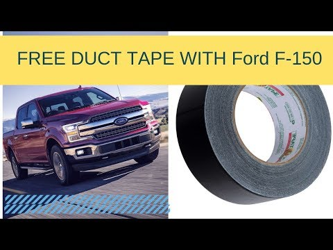 Why is Ford F-150 using duct tape.