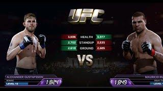 UFC EA Sports Boxing Alexander VS Mauricio Rua Gameplay
