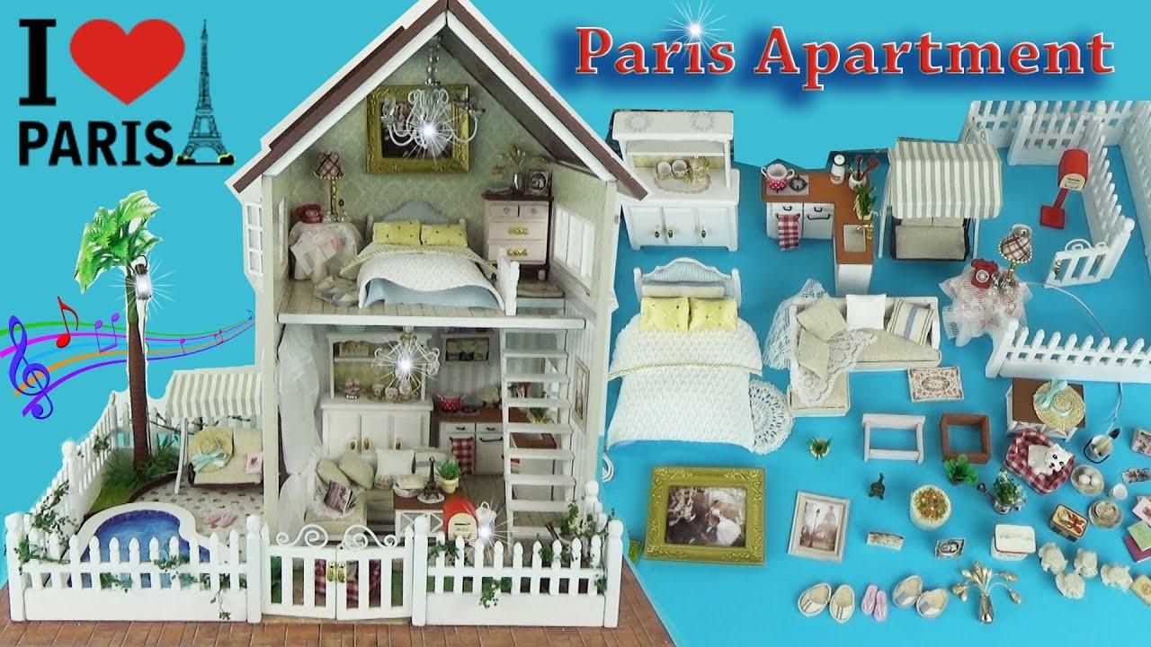 Кукольный домик с животными Сильваниан фэмилис. Распаковка игрушек .