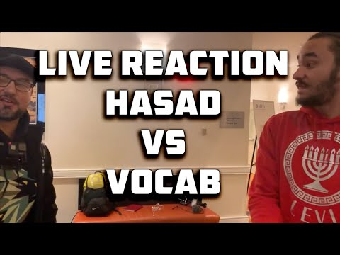 LIVE REACTION – HASAD SITS DOWN WITH VOCAB MALONE – SICARII