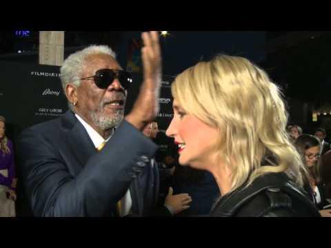 Morgan Freeman Is God - Gives A Red Carpet Exorcism