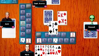 Hoyle Card Games 2008 - Canasta Playthrough
