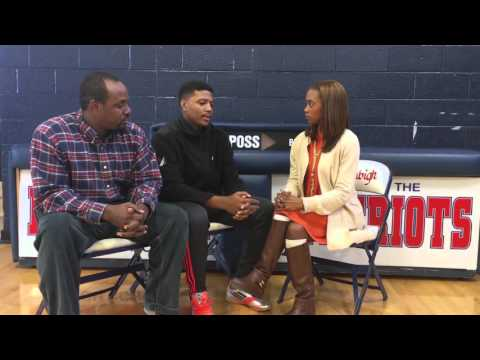 Recruit757's Tamara Brown Interviews Denbigh High School HC and Senior Guard Eric Heard