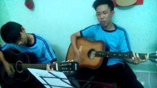 Tình khúc vàng-Hoài An-Guitar cover (Các em HV GCB G.4)