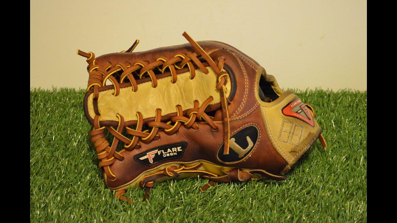 Baseball Glove Repair : Louisville slugger pro flare fl cc baseball glove