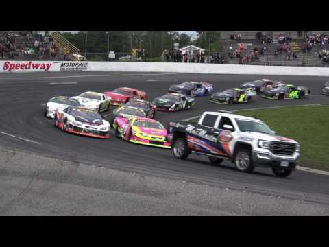 Sunset Speedway Late Model Feature June 17, 2017